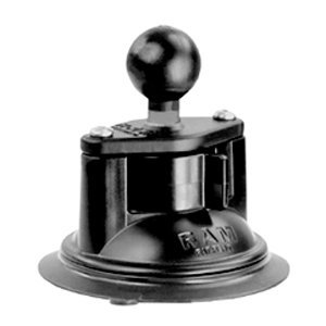 RAM Mounts RAM 3.3in. Diameter Suction Cup Twist Lock Base with 1in. Ball RAM-B-224-1U