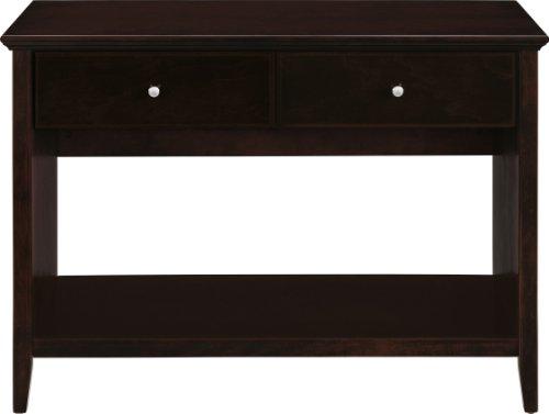 Altra 5134096 Multi-Functional Console Table, Espresso