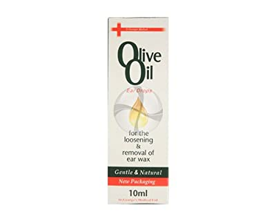Georges Medical Olive Oil Ear Drops