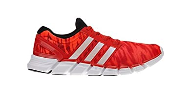 Adidas adipure Crazy Quick Running Shoes - Red/White (Mens) - 11.5