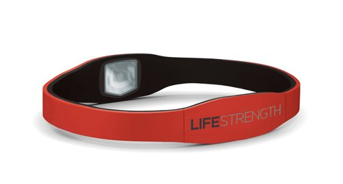 SPECIAL PACK OF 5 - LifeStrength Armband Small Red / Black 7-1/8