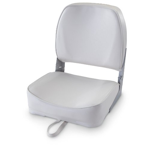 Attwood Folding Boat Seat, GRAY