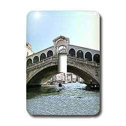 Vacation Spots - Rialto Bridge - Light Switch Covers - single toggle switch