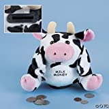 Plush Cow Bank with Sound