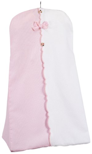 Picci Dafne Diaper Stacker in Pink and White