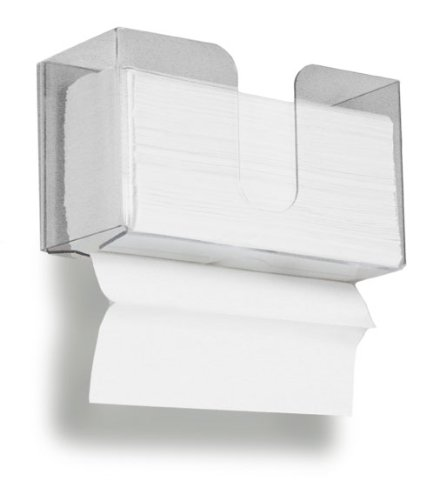 TrippNT 51912 Dual Dispensing Paper Towel Holder, 150 Multi-Fold Paper Towel Capacity and Peelable Protective Film (Plastic Paper Towel Dispenser compare prices)