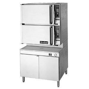 208V 3 Phase Cleveland 36-Cem-16-48 Convectionpro Xvi Sixteen Pan Electric Convection Floor Steamer