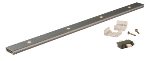 American Lighting Ruler-4 Low Profile Led Ruler With 350Ma Constant Current, 14-5/8-Inch, 5-Watt, Satin Aluminum