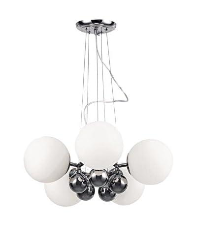 Light&Design Lámpara De Suspensión Agate Blanco Ø 50 Cm