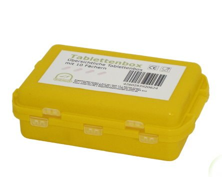 1 x Medikamentenbox Tablettenbox