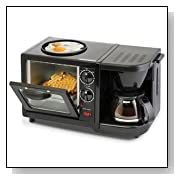 Smart Planet, 3 in 1 Breakfast Maker Toaster Oven