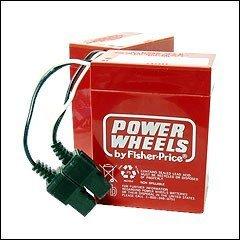 Power Wheels 6v Battery Set of 2 from Power Wheels