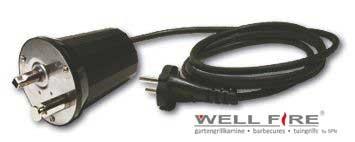 Elektromotor 220 V für Grillspieß / Wellfire kaufen