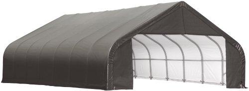ShelterLogic 79031 Grey 22'x36'x10' Peak Style