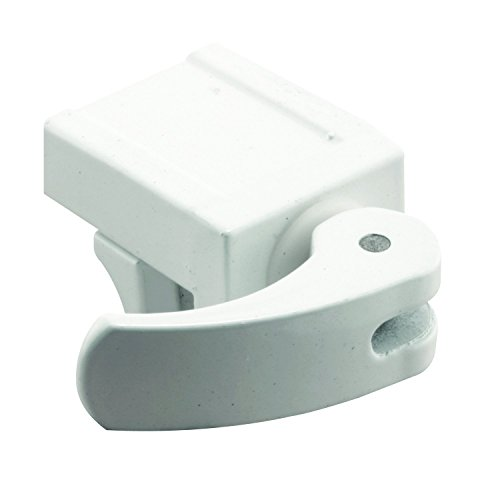 Prime-Line Products U 9809 Sliding Window Lock, 1/2 in., Diecast Construction, White, FOR VINYL WINDOWS (Pack of 2) (Window Safety Locks compare prices)