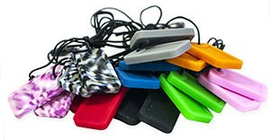 Dog Tags - Chew Necklace for Sensory, Oral Motor, Anxiety, Autism, ADHD
