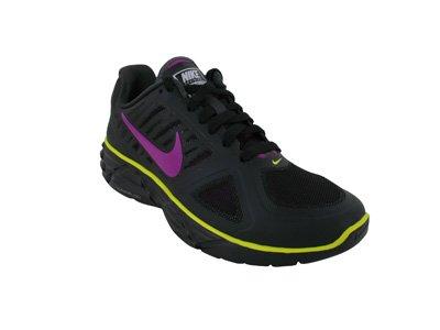 Nike Women's Lunar Sweet Victory II+ - Black / Vivid Grape-Anthracite-Sync Yellow, 8 B US