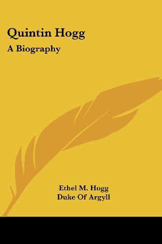 Quintin Hogg: A Biography