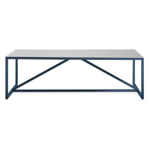 Blu Dot Strut Square Coffee Table, Navy