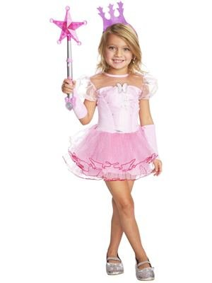 Rubies Wizard Of Oz 75Th Anniversary Glinda The Good Witch Tutu Dress Costume, Child Small front-1015774