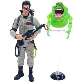 Picture of Mattel Ghostbusters Classics 2009 SDCC San Diego Comic-Con Exclusive Action Figure Dr. Egon Spengler (with Slimer) (B002KDYUSS) (Mattel Action Figures)