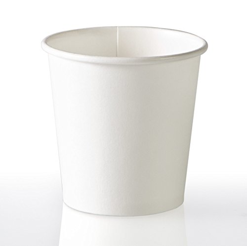 PERFECT 4oz Paper Espresso Cups (50ct) Bundled with Andaman® Coaster - Hot Beverage Cup for Coffee, Tea, Water, Shots, Wheat Grass, Samples and also Cold Drinks (Water Cooler Cups 4 Oz compare prices)