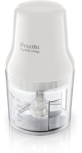 Preethi Turbo Chop CH 601 0.7 Litre 450 Watt Chopper  White  available at Amazon for Rs.1979