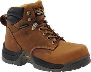 Carolina Women'S Ca1620 6 Inch Wp Composite Broad Toe Boot Crazy Horse Copper Lthr 10 W Us