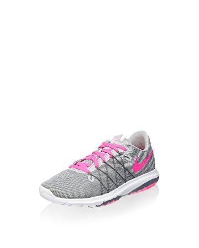 Nike Zapatillas Flex Fury 2 (GS) Gris / Rosa