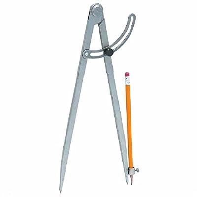 Large Pencil Marking Compass Circle Maker Scriber Marking Wing Divider