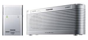 TOSHIBA ワイヤレススピーカーシステムCUTEBEAT TY-WSD9(S)