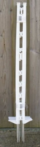 FarmcareUK 4ft White standard Electric Fence Posts Pk30