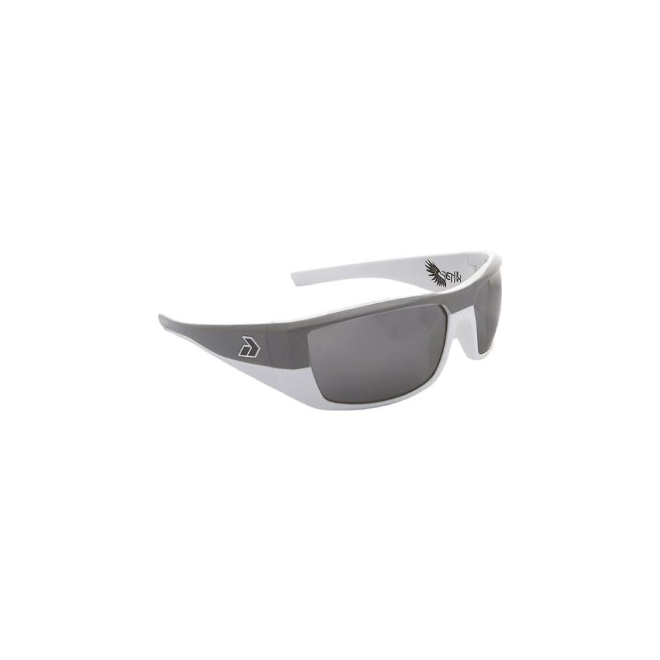 cc81a97a84 Gatorz Fenix Adult Designer Sunglasses Eyewear White Grey Chrome   One Size  Fits All