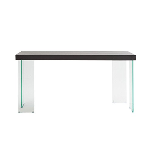 Cool How Do I Euro Style Cabrio Collection Console Table In Clear Machost Co Dining Chair Design Ideas Machostcouk