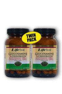 Glucosamine Chondroitin Complex Twin Pack Lifetime 60+60 Tabs