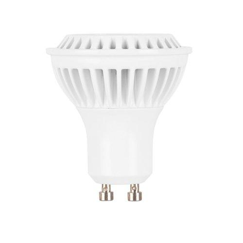 Globe Electric 01809 6.5-Watt Led For Life Mr16 Dimmable Soft White, High Performance Led Gu10 Base Light Bulb, 25-Watt Equivalent