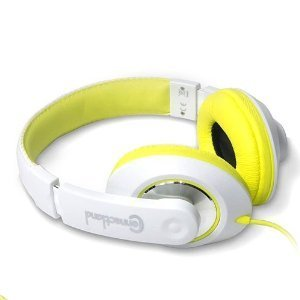 3.5Mm Lightweight Circumaural Over-Ear Stereo Headphone - Yellow
