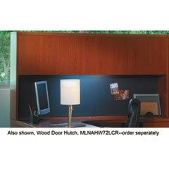 * Tack Panel for Aberdeen & Brighton Series 72w Hutch, Black Fabric *