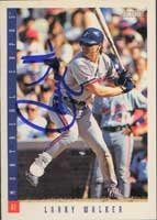 Larry Walker Montreal Expos 1993 Score Autographed Hand Signed Trading Card. by Hall+of+Fame+Memorabilia