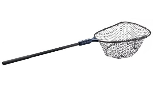 Ego large rubber landing net sporting goods outdoor for Rubber fishing nets