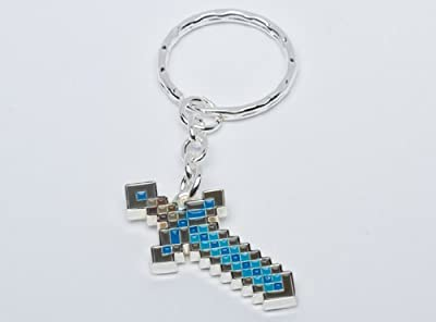 Minecraft Men's Jinx Diamond Sword Keychain