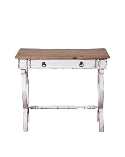 ARREDO WHITE Tavolino Noce 87 x 75 x 45 cm