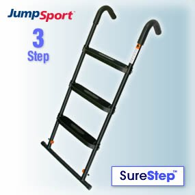 JumpSport SureStep 3-Step Trampoline Ladder