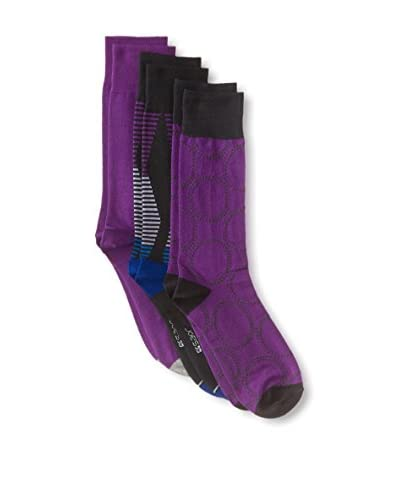 Joe's Men's Mixed Print Crew Socks - 3 Pack