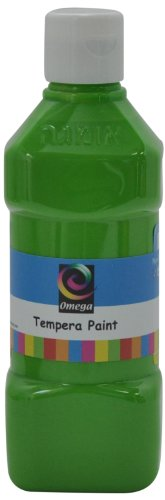 Omega Tempera Paint, 500ml, Light Green