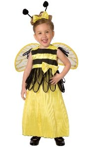 Honey Bee Child Costume Size 3-4 Toddler