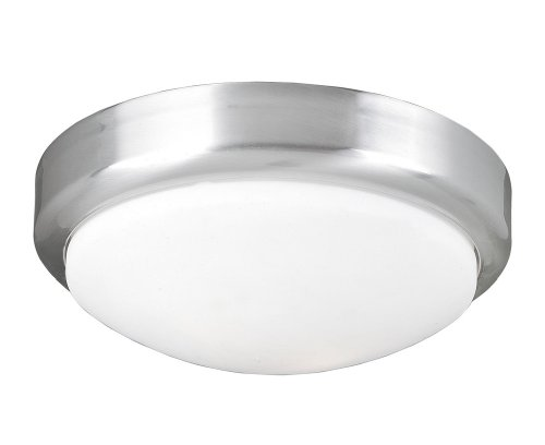 World Imports Lighting 9302-37 Beyond Modern 2-Light Flush-Mount Ceiling Fixture, Brushed Nickel