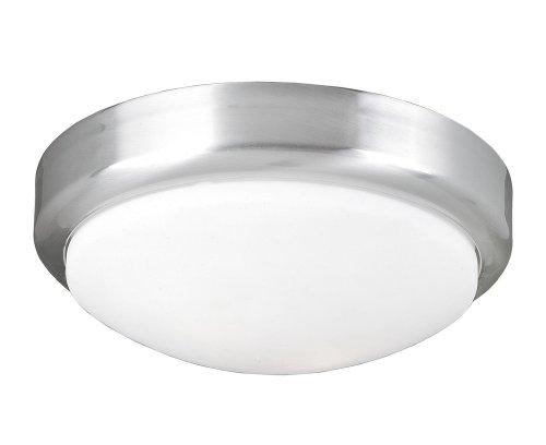World Imports Lighting 9302-37 Beyond Modern 2-Light Flush Mount, Brushed Nickel