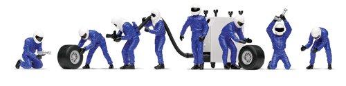 Scalextric 1:32 Pit Team Fuel Crew - Blue