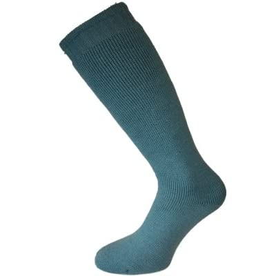 New Ladies Gardeners Wellington Long Warm Thermal Wool Mix Boot Sock. Single Pair Pack. To Fit Size UK 4-8 EU 36-40